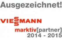 Auszeichnung als VIESSMANN Markitv Partner